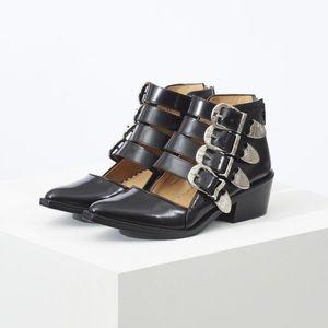 Toga Pulla Size 39 Boots - box and garment bag